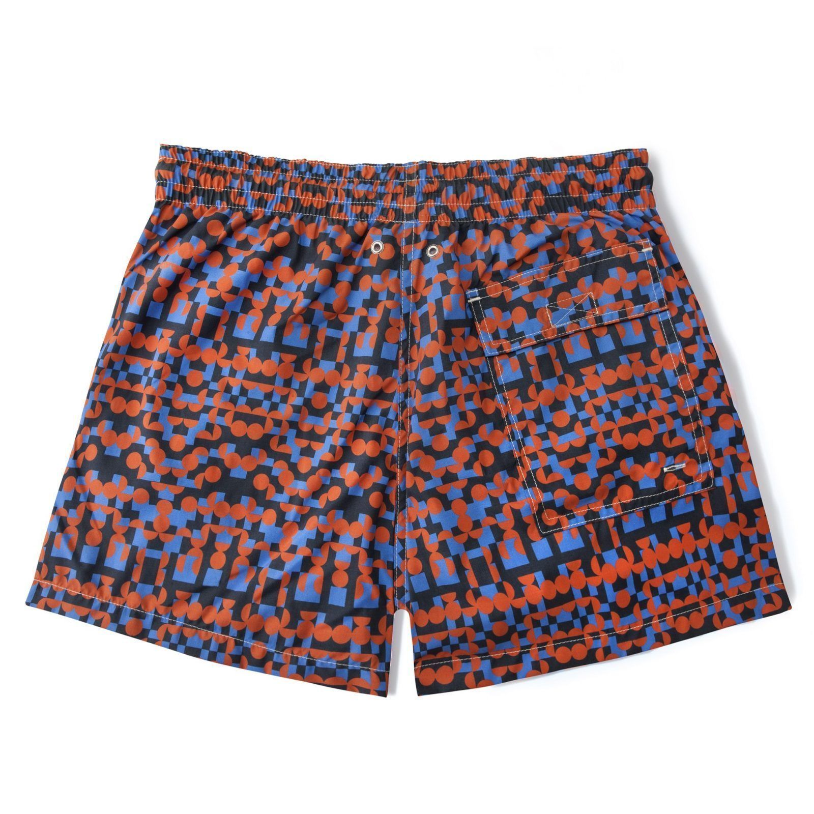 Short-Length Swim Shorts-495