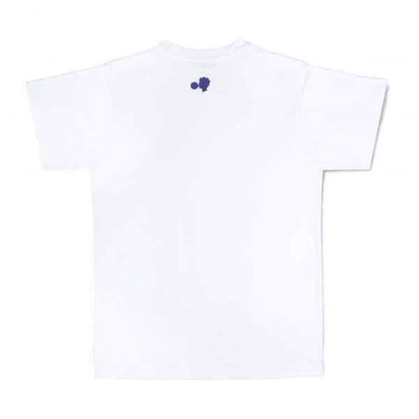 T-shirt blanc yes okay oversize 1