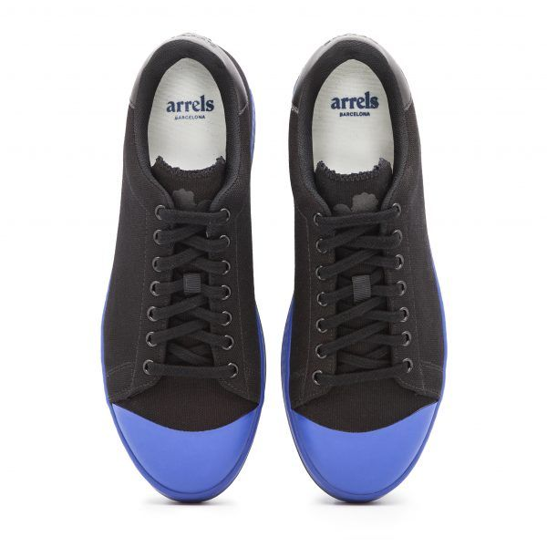 Cotton-Canvas Sneakers with Contrast Sole-617