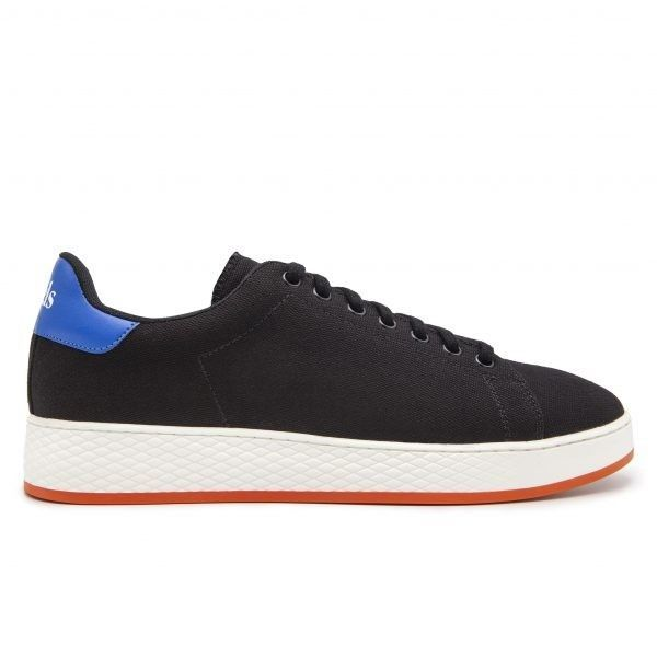 Cotton-Canvas Sneakers with Contrast Sole-0