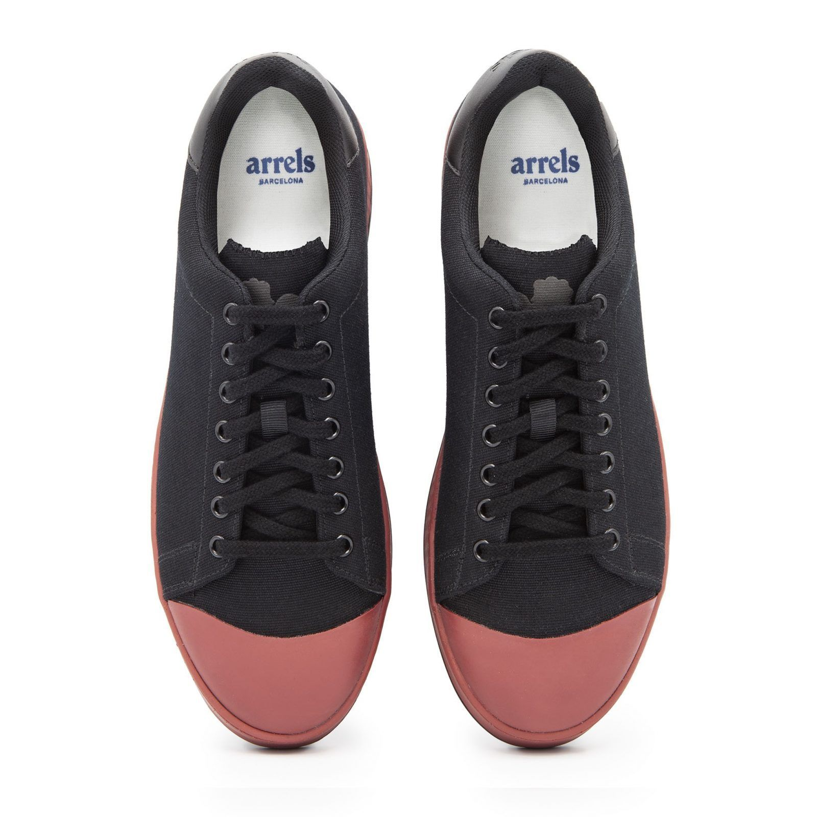 Cotton-Canvas Sneakers with Contrast Sole-642