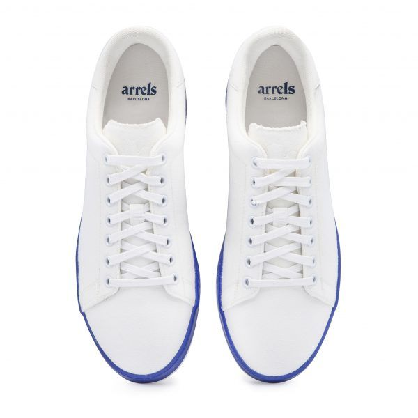 Cotton-Canvas Sneakers with Contrast Sole-633