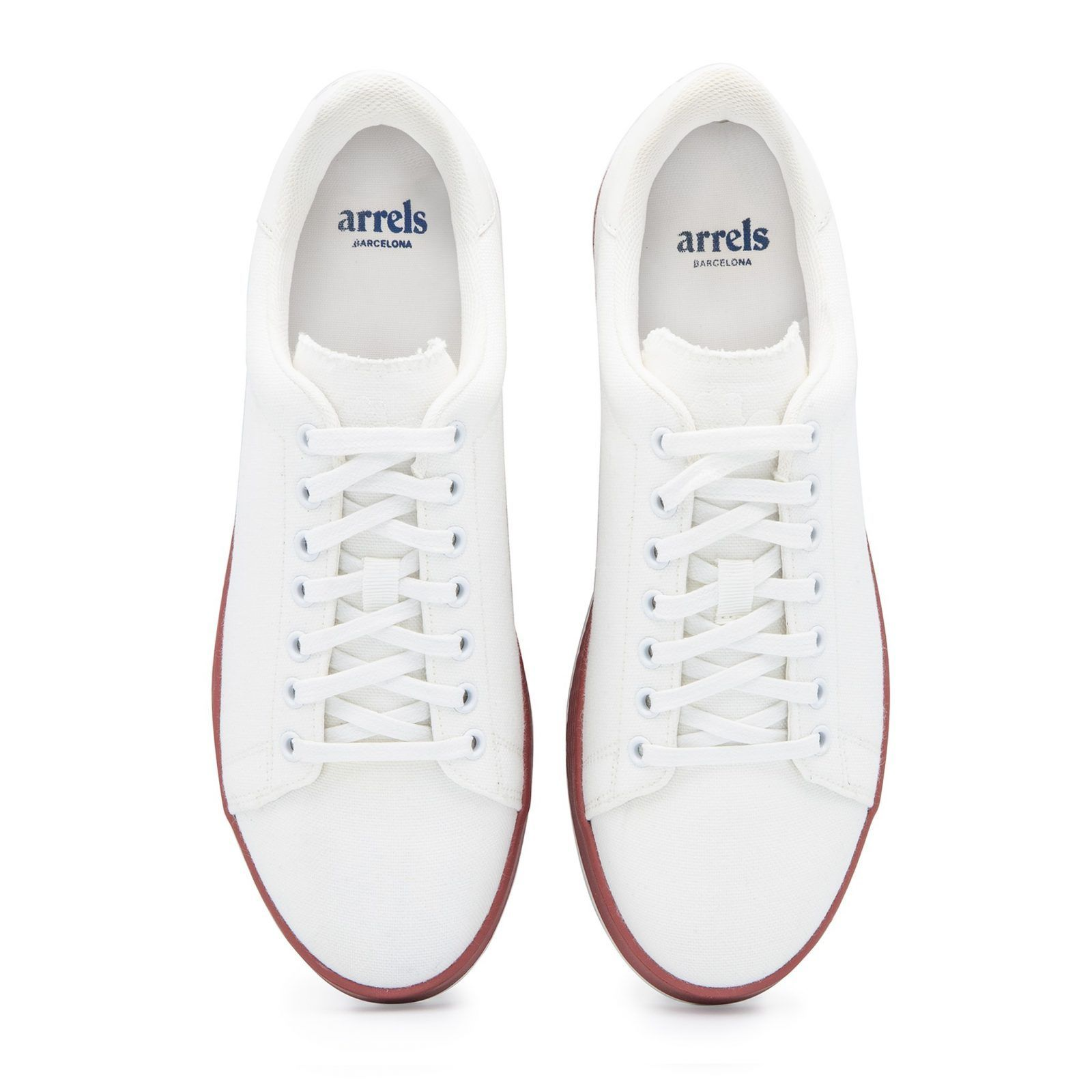 Cotton-Canvas Sneakers with Contrast Sole-634