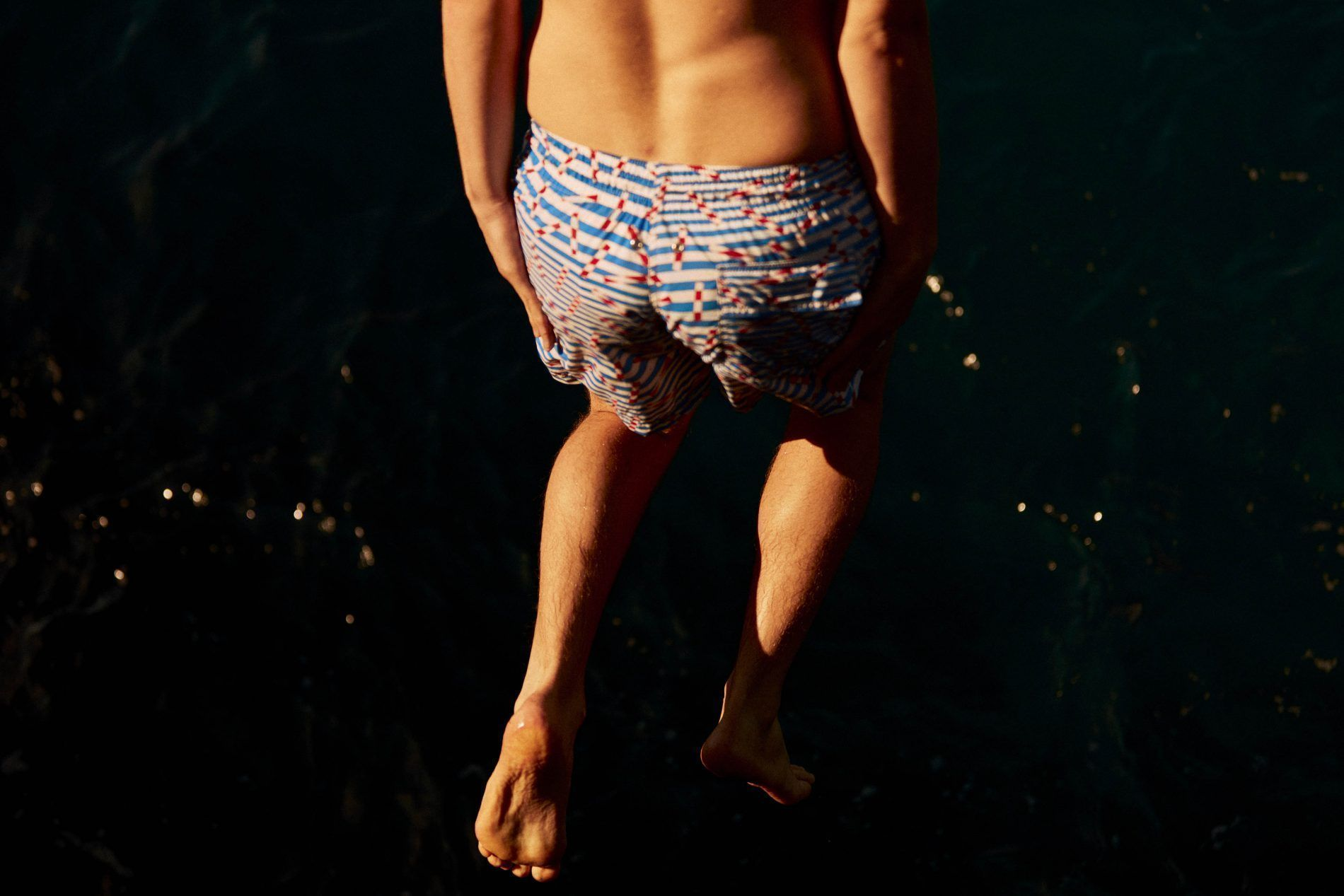 Short-Length Swim Shorts