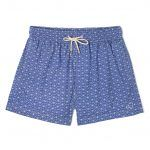 CLASSIC SWIM SHORTS WHITE ON BLUE TROCHUTMETRICS x ALEX TROCHUT 01