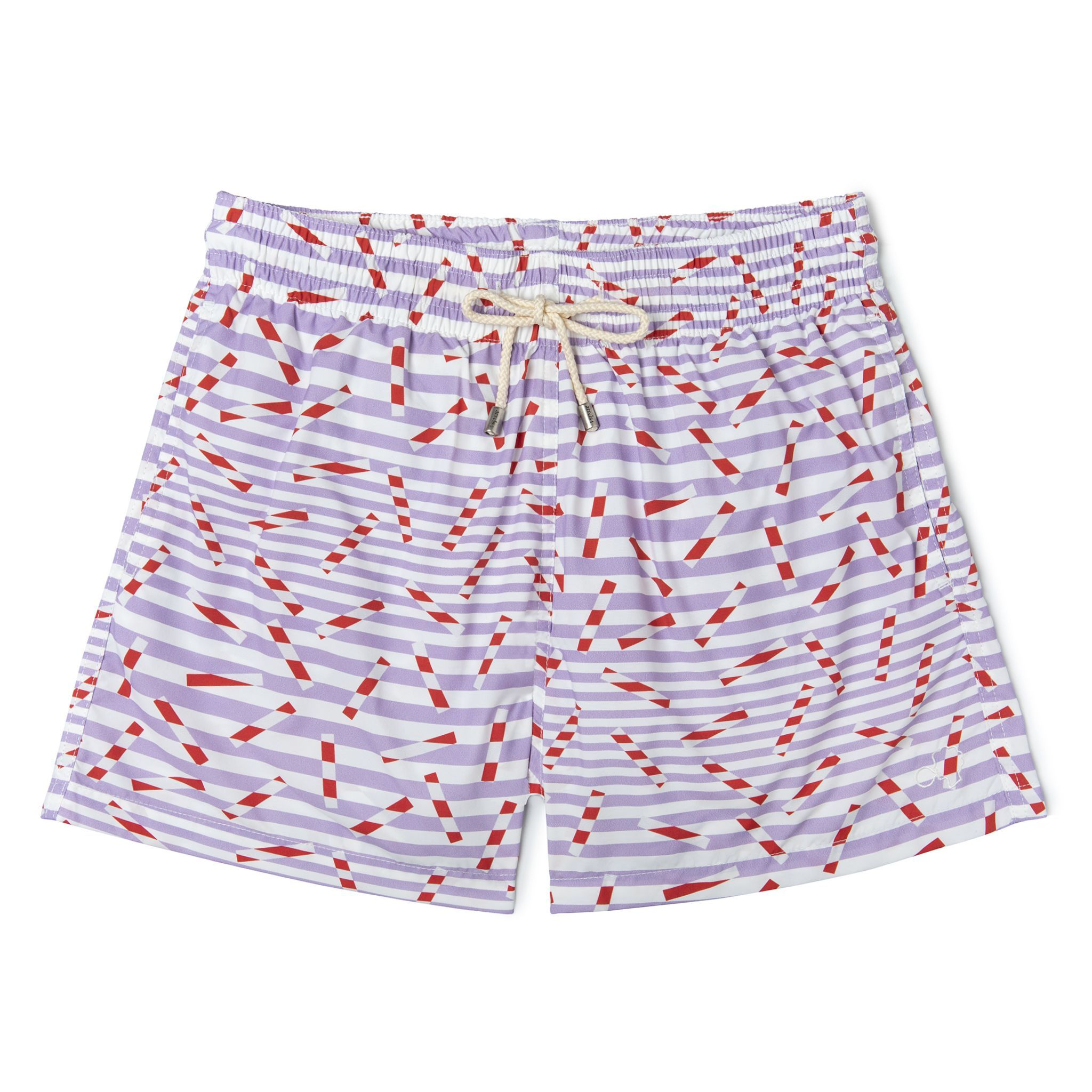Short-Length Swim Shorts Mauvesticks