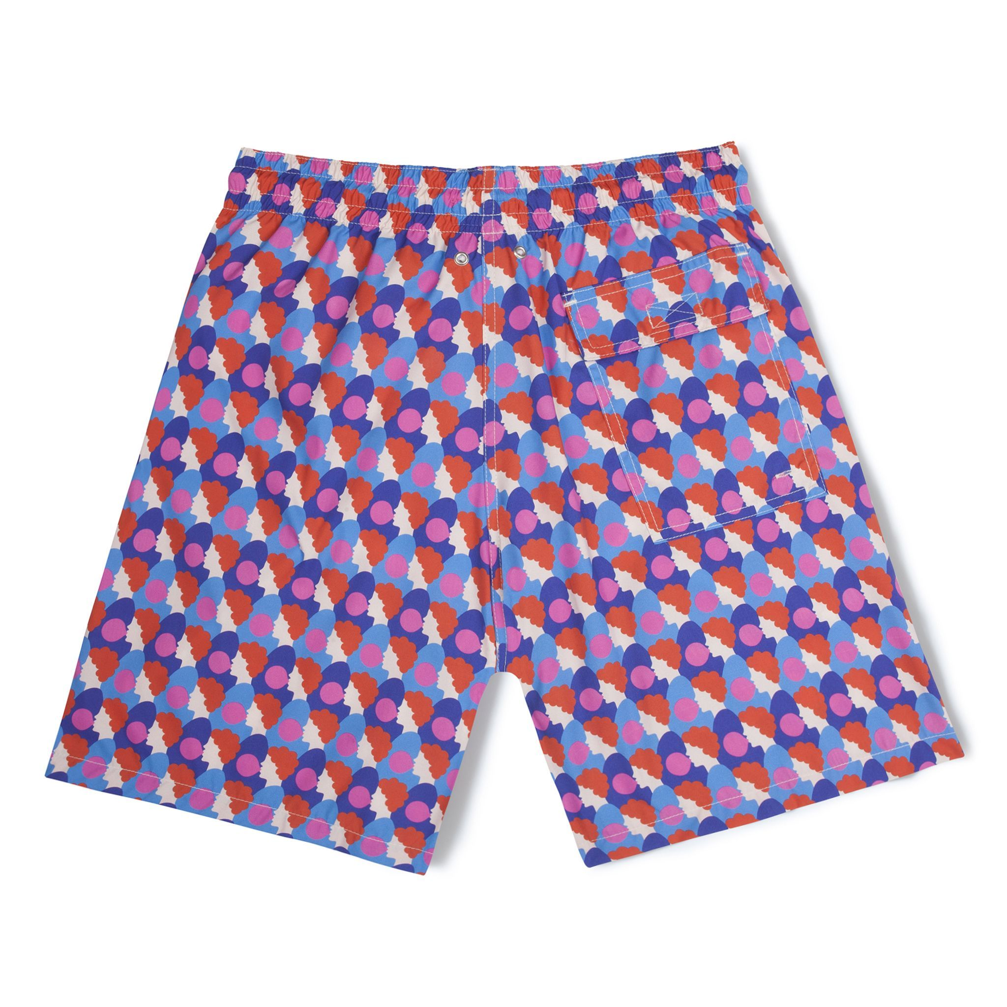 Mid-Length Swim Shorts Pink Bubblegum