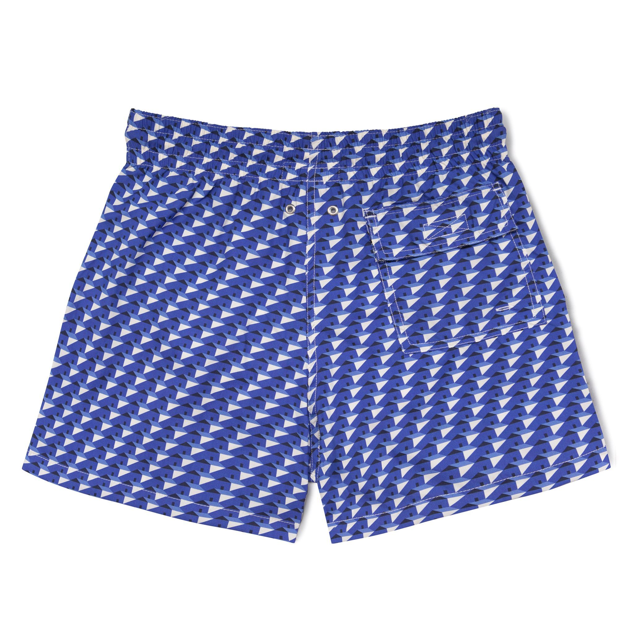 Short-Length Swim Shorts Costa Brava by Night