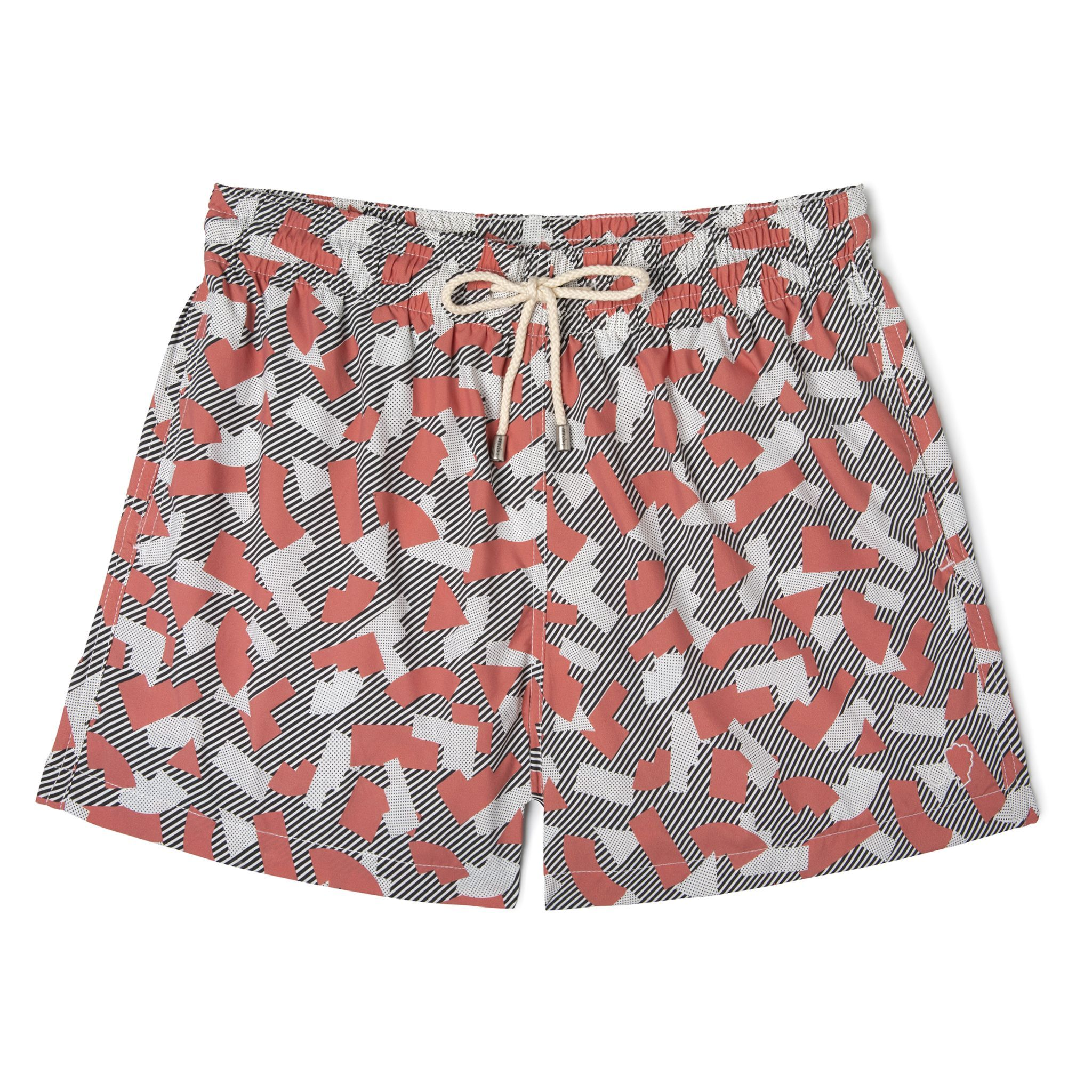 Short-Length Swim Shorts Memphis Milano