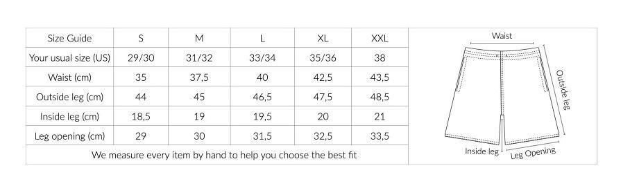 SIZE GUIDE LONG BIS